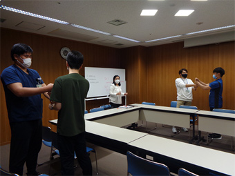 英会話研修の写真